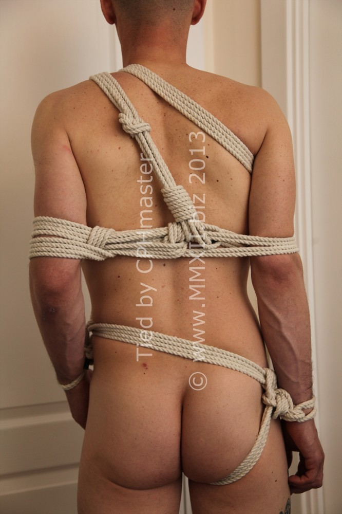 Tied up - back