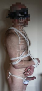 Hairy, HOT and roped - 2
